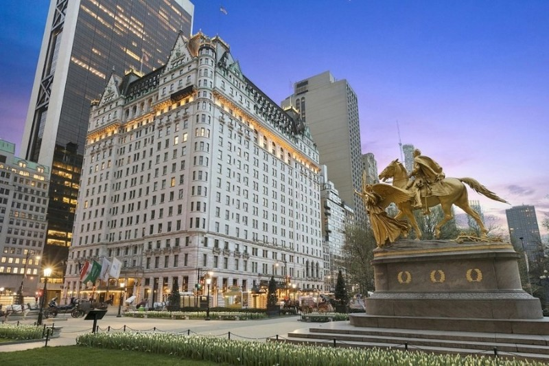 Find The 10 Most Expensive and Luxury Hotels in New York luxury hotel Where To Sleep In The City That Never Sleeps? 10 Luxury Hotels In NYC Plaza Hotel New York City 1