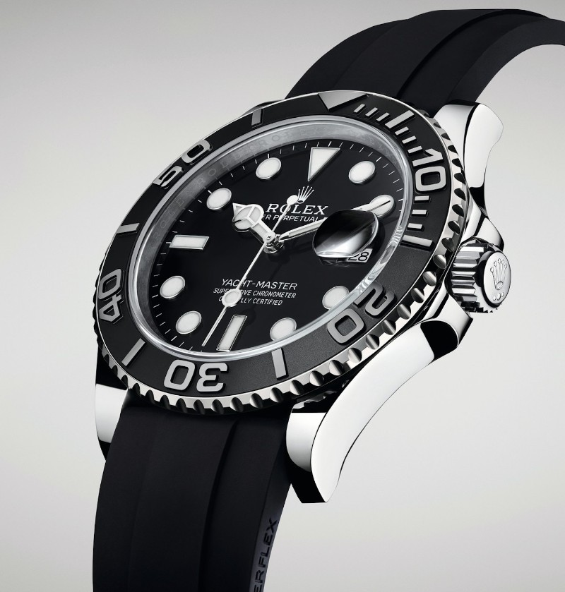 Baselworld 2019: The Best Highlights of the First Day baselworld 2019 Baselworld 2019: The Best Highlights of the First Day Rolex Oyster Perpetual Yacht Master 42 M226659 YachtMaster42 BaselWorld2019 aBlogtoWatch 4