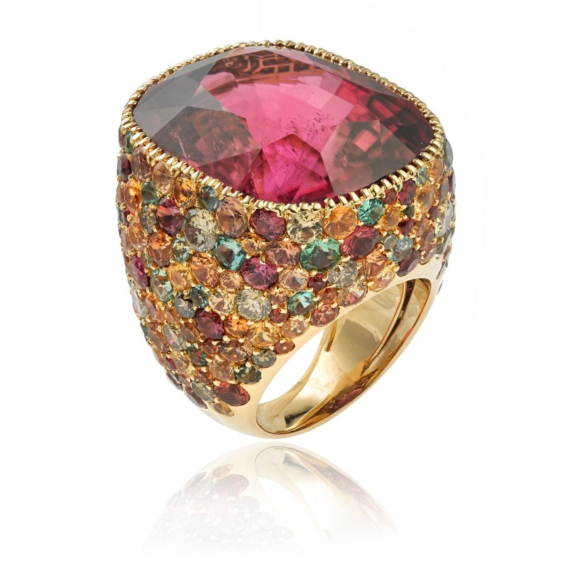 PAD Paris 2019: Jewelry Exhibitors You Should Know About pad paris PAD Paris 2019: Jewelry Exhibitors You Should Know About lorenz baumer rubellite ring