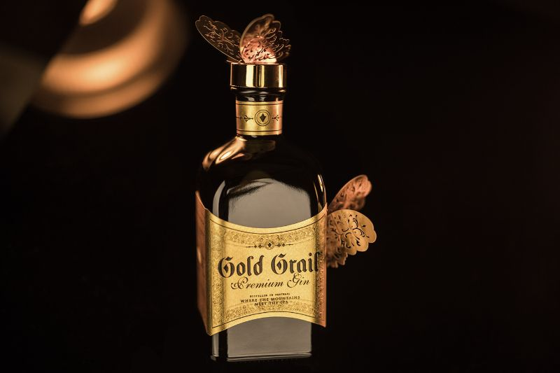 premium gin Discover the Gold Grail Gin – A Premium Gin With Notoriety 9aad6464218763