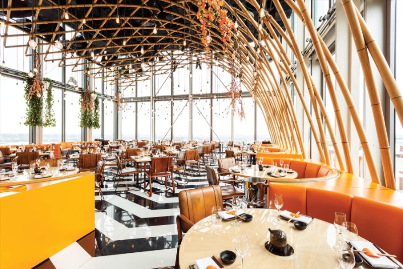 finest restaurants Get Amazed by These 5 World's Finest Restaurants SUSHISAMBA Restaurant Bishopsgate London