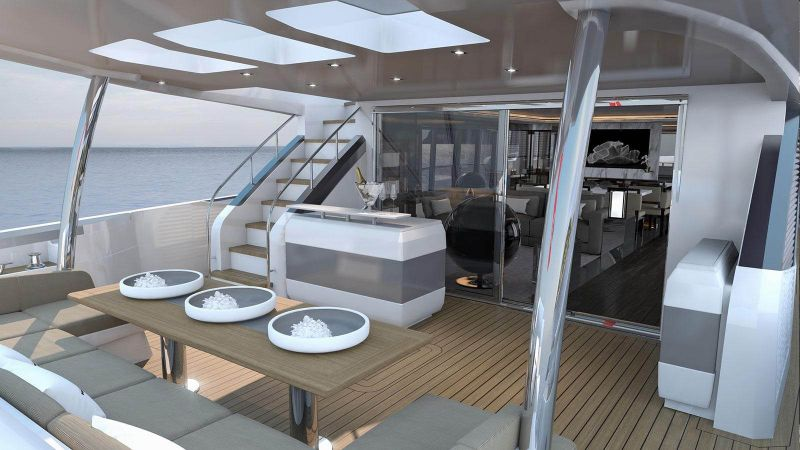 The Pearl 95 – A Superyacht with an Interior Design by Kelly Hoppen superyacht The Pearl 95 – A Superyacht with an Interior Design by Kelly Hoppen The Pearl 95     A Superyacht with an Interior Design by Kelly Hoppen 2