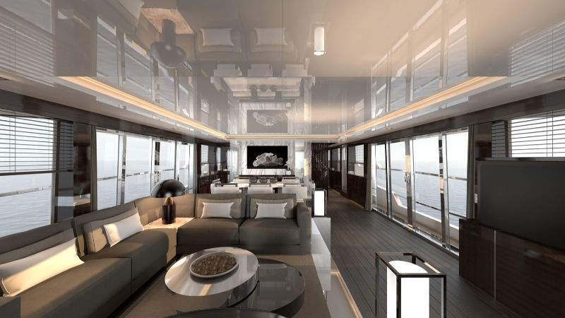 superyacht The Pearl 95 – A Superyacht with an Interior Design by Kelly Hoppen The Pearl 95     A Superyacht with an Interior Design by Kelly Hoppen 8