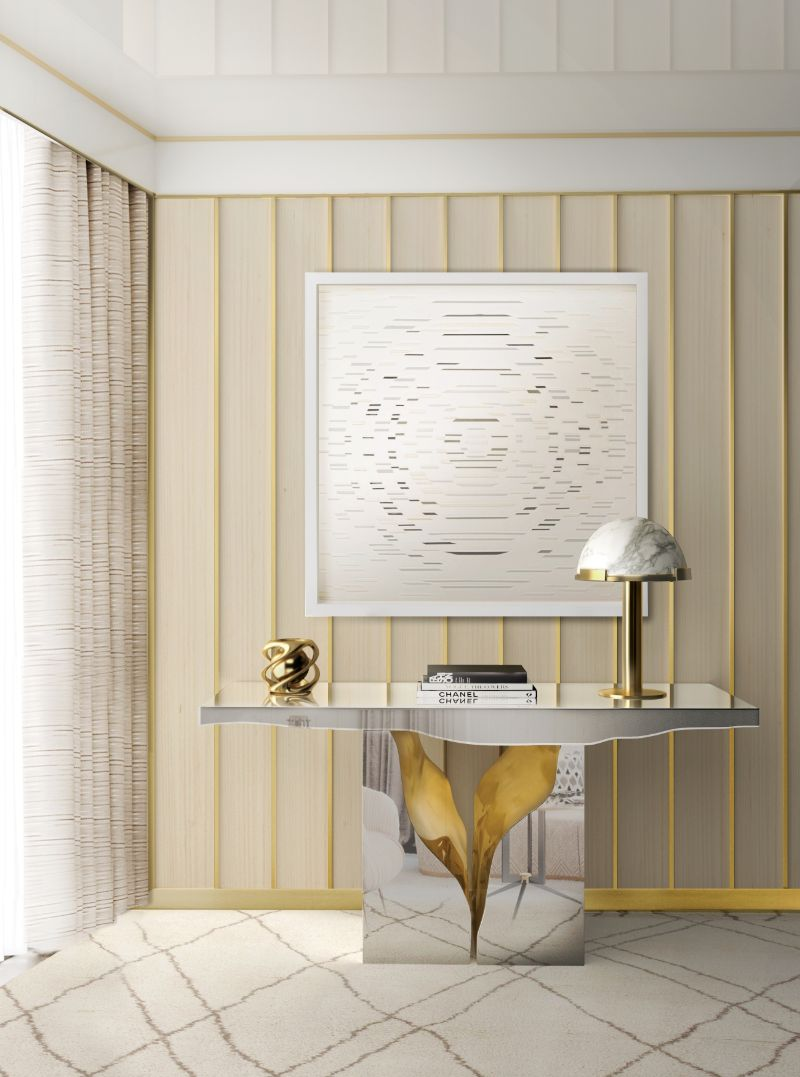luxury furniture Lapiaz Luxury Furniture Collection: Symbols of Power and Refinement lapiaz console
