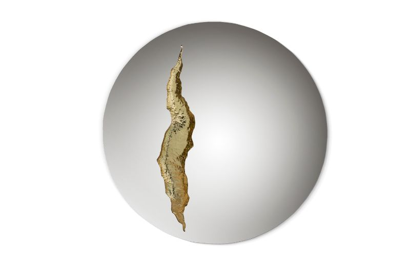 Lapiaz Collection – Art Furniture Born from A Freshly Cracked Stone art furniture Lapiaz Collection – Art Furniture Born from A Freshly Cracked Stone lapiaz mirror 01 HR