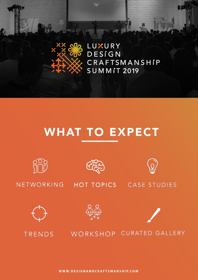 All About The Luxury Design + Craftsmanship Summit 2019 craftsmanship All About The Luxury Design + Craftsmanship Summit 2019 All About The Luxury Design Craftsmanship Summit 2019 6