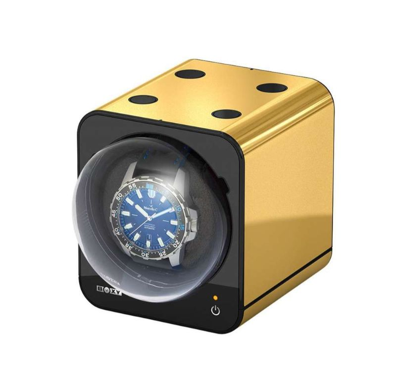 watch winders Golden and Modern Watch Winders to Keep Safe Your Timepieces Gold Fancy Brick ml