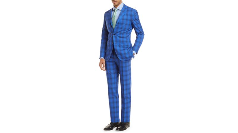 modern suits Men's Fashion: Discover Colorful and Modern Suits by Luxury Brands kiton