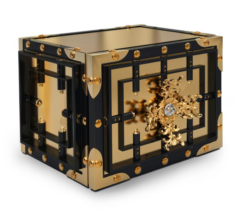 watch winders Golden and Modern Watch Winders to Keep Safe Your Timepieces knox table top 2