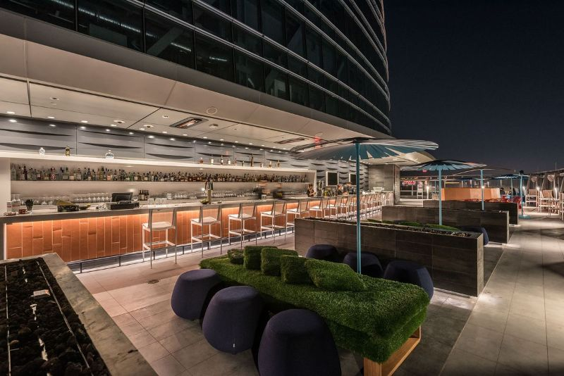Touching The Sky: The 5 Best Rooftop Hotel Bars in Los Angeles rooftop hotel bars Touching The Sky: The 5 Best Rooftop Hotel Bars in Los Angeles 2017 06 24 Spire 012