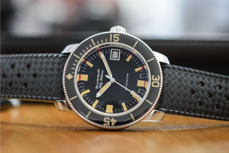 New Five Dive Watches With a Unique Design For An Exclusive Summer dive watches New Five Dive Watches With a Unique Design For An Exclusive Summer Blancpain Fifty Fathoms Barakuda Re Edition 5008B 1130 B52A 4