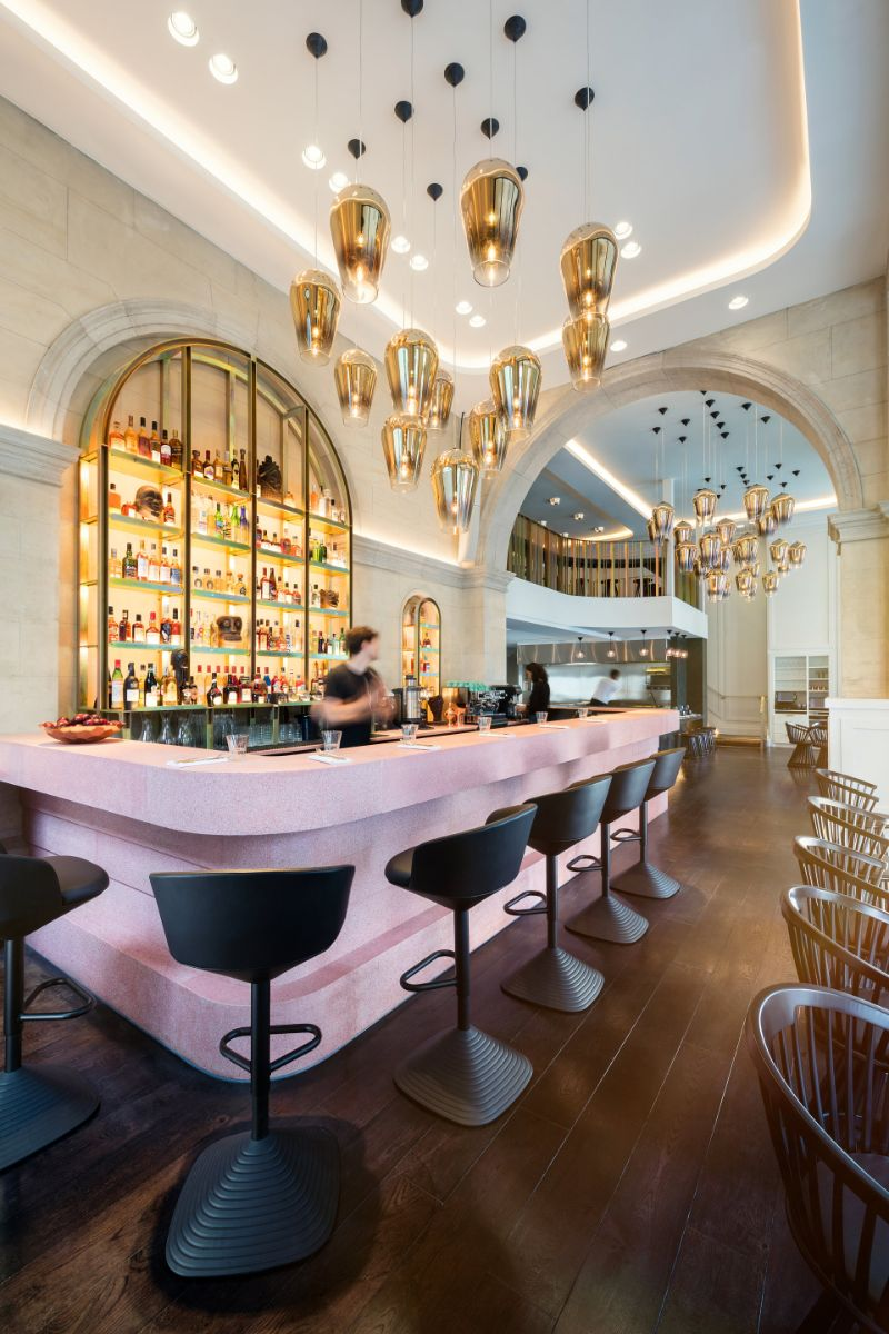 Sophistication and Luxury: Meet The Bronte Restaurant by Tom Dixon tom dixon Sophistication and Luxury: Meet The Bronte Restaurant by Tom Dixon Bronte by Tom Dixon 02