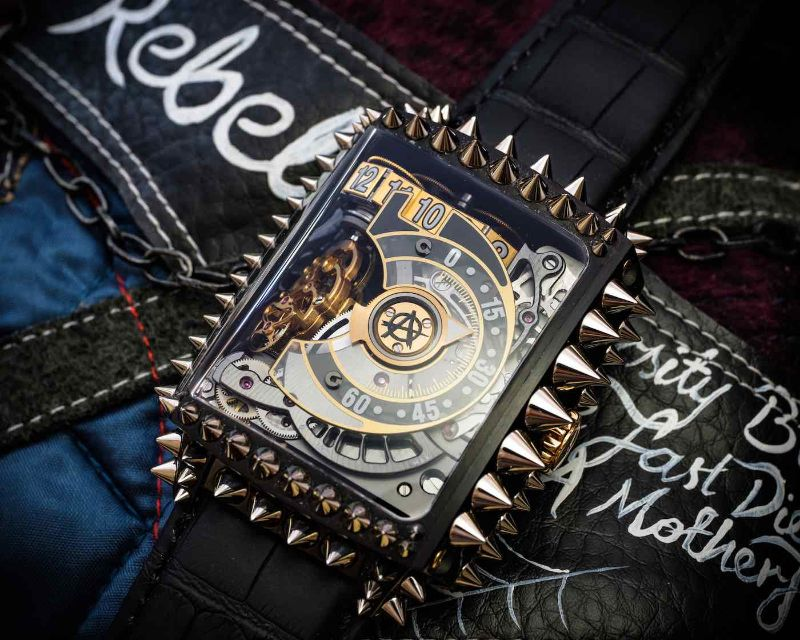 HL2.3 PUNK Timepiece - A Symbol Of Luxury Rebellion timepiece HL2.3 PUNK Timepiece by Hautlence – A Symbol Of Luxury Rebellion Hautlence HL2