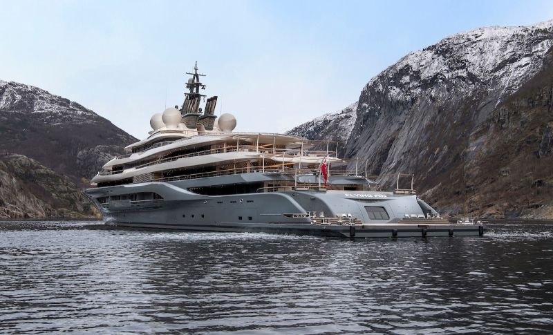 Inside The 'Flying Fox' – The World's Largest Superyacht superyacht Inside The 'Flying Fox' – The World's Largest Superyacht Inside The    Flying Fox        The World   s Largest Superyacht 1