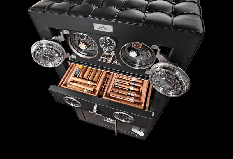 The Best Of Craftsmanship: Cigar Humidors With A Unique Design craftsmanship The Best Of Craftsmanship: Cigar Humidors With A Unique Design Safe doettling Fortress secure