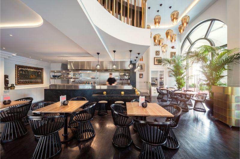 Sophistication and Luxury: Meet The Bronte Restaurant by Tom Dixon tom dixon Sophistication and Luxury: Meet The Bronte Restaurant by Tom Dixon TD Bronte 3412 optimised