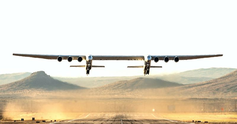 """Stratolaunch"" – The Largest Aircraft in The World stratolaunch ""Stratolaunch"" – The Largest Aircraft in The World Transpo Stratolaunch FF 9564 1"
