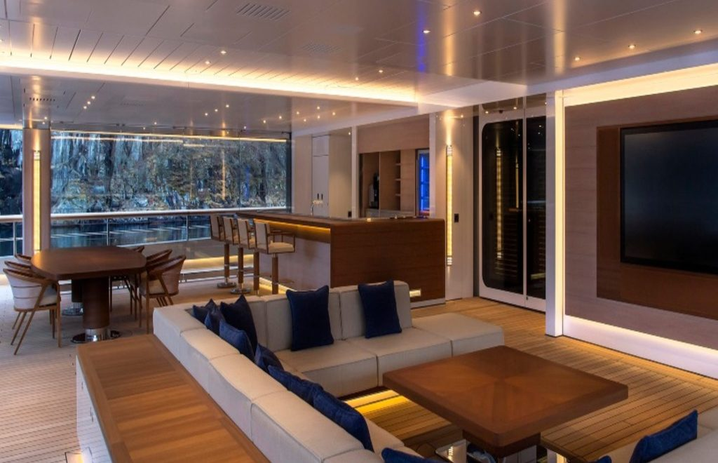 Inside The 'Flying Fox' – The World's Largest Superyacht