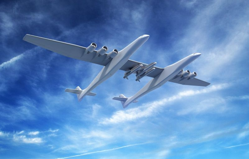 """Stratolaunch"" – The Largest Aircraft in The World stratolaunch ""Stratolaunch"" – The Largest Aircraft in The World stratolaunch systems stratolaunch stratolaunch model 351 sam"
