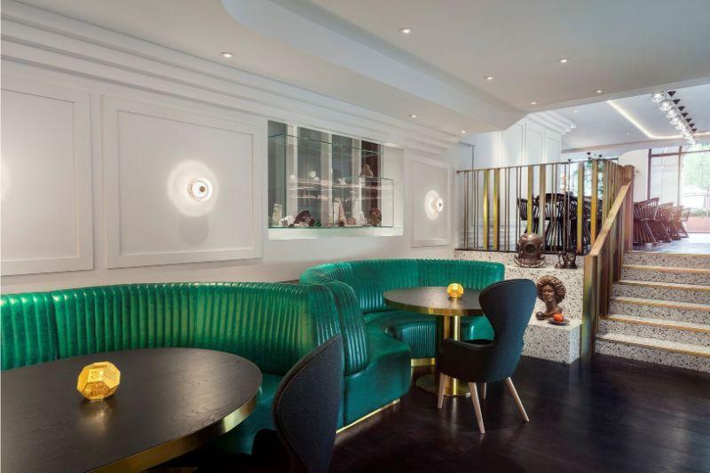 Sophistication and Luxury: Meet The Bronte Restaurant by Tom Dixon tom dixon Sophistication and Luxury: Meet The Bronte Restaurant by Tom Dixon tomdixondrsbronterestaurantlondon06