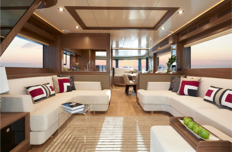 superyacht Explore The Word Inside The Sirena 64 Superyacht 1