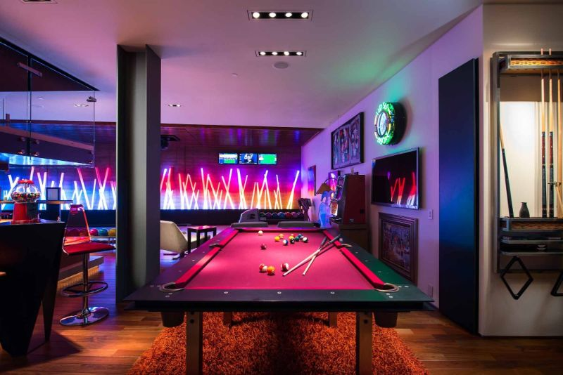 10 Contemporary and Luxury Gaming Room Ideas You'll Love gaming room 10 Contemporary and Luxury Gaming Room Ideas You'll Love 10 Contemporary and Luxury Gaming Room Ideas Youll Love 2