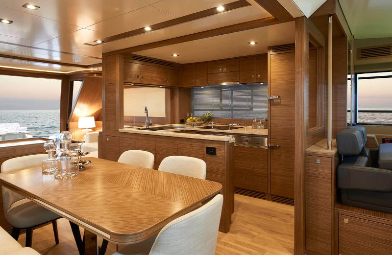 superyacht Explore The Word Inside The Sirena 64 Superyacht 2
