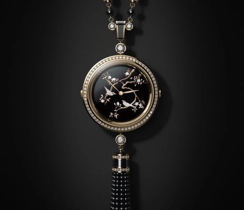 Discover This Exclusive Timepiece By Chanel chanel Discover This Exclusive Timepiece By Chanel Chanel   s Premi  re Velours A Timepiece With Brilliant Diamonds 10