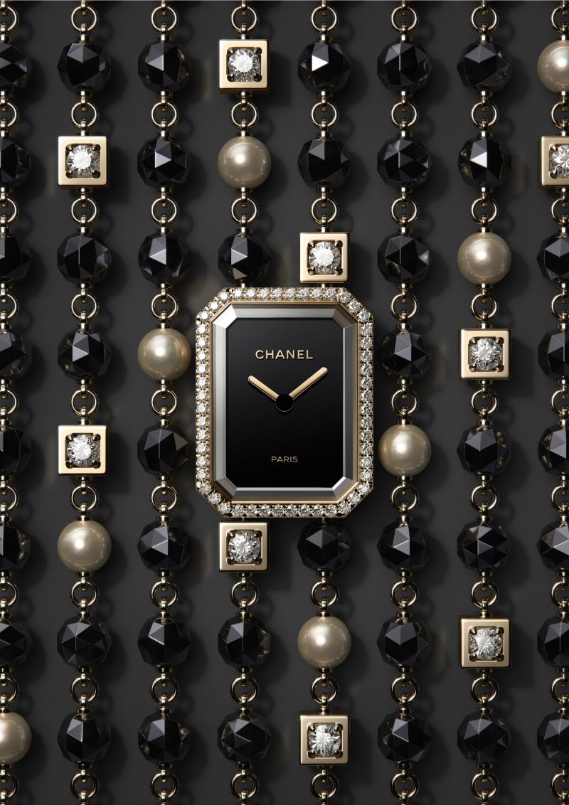 Discover This Exclusive Timepiece By Chanel chanel Discover This Exclusive Timepiece By Chanel Chanel   s Premi  re Velours A Timepiece With Brilliant Diamonds 3