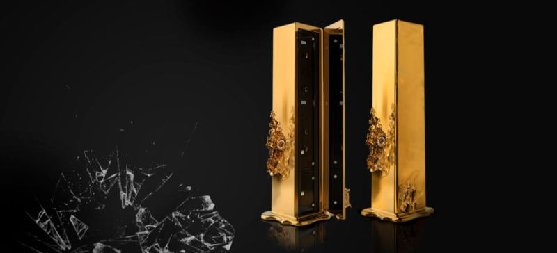 Intriguing Dreamlike Luxury Safes Inspired by Salvador Dalí luxury safes Iconic Luxury Safes: Craftsmanship Pieces By High-End Brands Dali Safe by Boca do Lobo 1