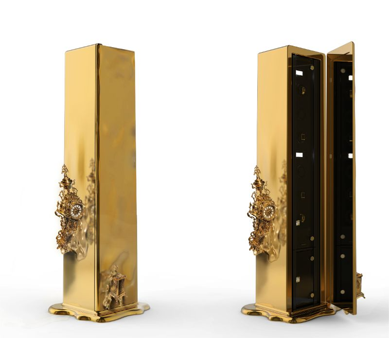 Intriguing Dreamlike Luxury Safes Inspired by Salvador Dalí luxury safes Iconic Luxury Safes: Craftsmanship Pieces By High-End Brands Dali Safe by Boca do Lobo 2