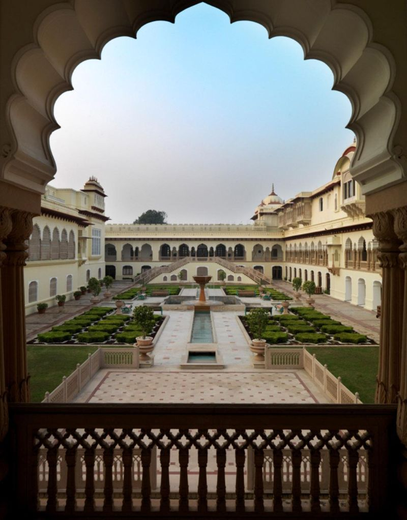 Looking For A Unique Experience? Discover These 5 Luxury Hotels! unique experience Looking For A Unique Experience? Discover These 5 Luxury Hotels! Taj Rambagh Palace 2