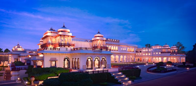 Looking For A Unique Experience? Discover These 5 Luxury Hotels! unique experience Looking For A Unique Experience? Discover These 5 Luxury Hotels! Taj Rambagh Palace