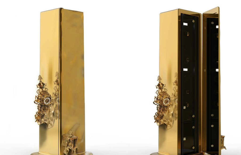 Intriguing Dreamlike Luxury Safes Inspired by Salvador Dalí